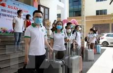 60 cán bộ, y bác sỹ Nghệ An tăng viện cho Thành phố Hồ Chí Minh