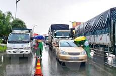 Bảy phân luồng cho các phương tiện lưu thông khu vực phía Nam