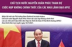 Chủ tịch nước dự họp không chính thức của của các nhà lãnh đạo APEC