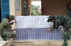 Bộ đội Biên phòng phát hiện 2 vụ buôn lậu thuốc lá qua biên giới