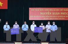 Chủ tịch nước động viên dân TP.HCM khắc phục khó khăn chiến thắng dịch