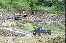 Làm rõ vụ khai thác, vận chuyển khoáng sản trái phép ở Hàm Thuận Nam