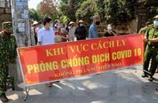Hà Nam: Khu vực có ổ dịch COVID-19 cuối cùng được dỡ bỏ phong tỏa