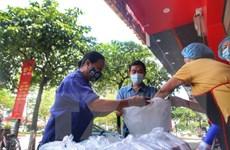 [Photo] Ấm áp nghĩa tình với bếp ăn 0 đồng tại Hà Nội
