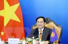 Bộ trưởng Bùi Thanh Sơn dự Hội nghị Bộ trưởng Ngoại giao ASEAN-Ấn Độ