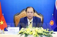 Hình ảnh Hội nghị Bộ trưởng Ngoại giao ASEAN và New Zealand