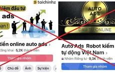 Công an Ninh Bình: Ứng dụng Auto Ads huy động vốn đa cấp lừa đảo