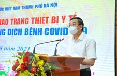Doanh nghiệp chung tay cùng thành phố Hà Nội đẩy lùi dịch COVID-19