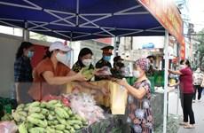 """Hà Nội: """"Chợ 0 đồng,"""" hỗ trợ không để người dân bị thiếu đói"""