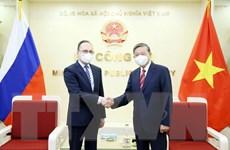Việt Nam và LB Nga tiếp tục tăng cường hợp tác phòng, chống tội phạm