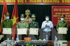 Điện Biên: Khen thưởng lực lượng phá chuyên án 98 bánh heroin