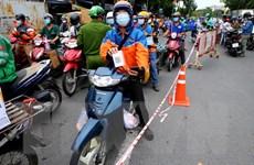 TP Hồ Chí Minh quản lý chặt hoạt động của shipper trong mùa dịch