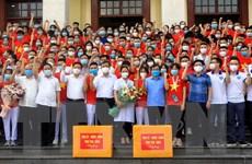 Thái Bình tiếp tục hỗ trợ TP.HCM và Bình Dương chống dịch