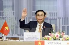 Chủ tịch Quốc hội Việt Nam và Thái Lan hội đàm trực tuyến