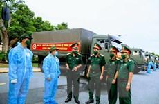 Quân khu 9, Ninh Bình hỗ trợ TP.HCM nhu yếu phẩm, thiết bị phòng dịch
