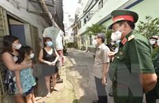 PTT Vũ Đức Đam kiểm tra công tác phòng, chống dịch tại quận Gò Vấp