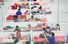 Bình Dương: Đảm bảo ăn uống cho 13.000 ca F0 ở Khu điều trị Thới Hòa