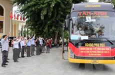 Đoàn cán bộ y tế tỉnh Kon Tum hỗ trợ Bình Dương chống dịch COVID-19