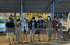 Tám thanh niên ở Cà Mau tụ tập sử dụng trái phép chất ma túy