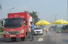 """Lá chắn """"sống"""" chốt chặn, ngăn dịch nơi cửa ngõ thủ đô Hà Nội"""