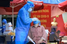 Hơn 2.000 công nhân tại Thừa Thiên-Huế có kết quả test nhanh âm tính