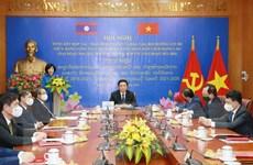 Hợp tác, trao đổi lý luận, bồi dưỡng cán bộ giữa Đảng Việt Nam và Lào