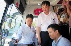 Hà Nội đôn đốc doanh nghiệp vận tải lắp camera trên ôtô