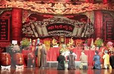 Giỗ tổ nghề sân khấu và ý nghĩa đặc biệt với nghệ thuật truyền thống