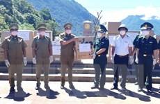 Quảng Bình: Tặng thiết bị y tế phòng, chống dịch cho tỉnh Khammouane