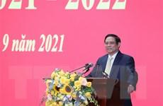 Thủ tướng Phạm Minh Chính dự Lễ khai giảng Học viện Quốc phòng