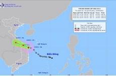 Bão số 6 ngay trên vùng biển từ Quảng Trị đến Quảng Ngãi, giật cấp 10
