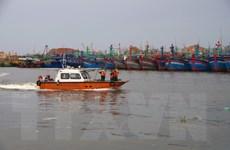 Tập trung tìm kiếm hai ngư dân mất tích trên biển Bình Định