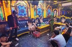 Lào Cai: Bắt giữ 19 đối tượng sử dụng ma túy trong phòng hát Karaoke