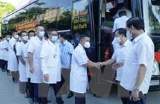 Điện Biên tiếp tục hỗ trợ Thành phố Hồ Chí Minh chống dịch COVID-19