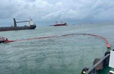 Bà Rịa-Vũng Tàu: Hút hết dầu ở tàu Mỹ An 1, loại bỏ nguy cơ dầu tràn