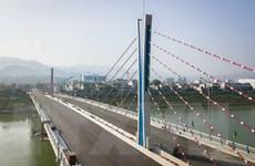 Thông xe kỹ thuật cầu Hòa Bình 2, có tổng vốn đầu tư hơn 590 tỷ đồng