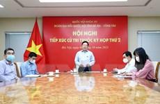 PTT Phạm Bình Minh và Trưởng ban Tuyên giáo tiếp xúc cử tri