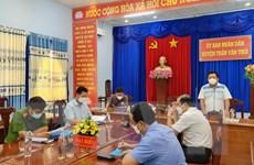 Chủ tịch huyện Trần Văn Thời thông tin về việc tiêu hủy đàn chó, mèo