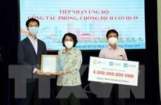 Tổng lãnh sự quán Hàn Quốc ở TP.HCM ủng hộ phòng, chống dịch