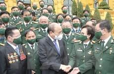Chủ tịch nước gặp gỡ đại biểu Hiệp hội Doanh nhân Cựu chiến binh Việt