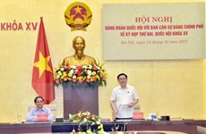 Chính phủ chuẩn bị 54 báo cáo, tờ trình ở Kỳ họp 2, Quốc hội khóa XV