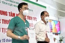 TP.HCM: Tiếp nhận trung tâm Hồi sức người bệnh COVID-19 BV Bạch Mai