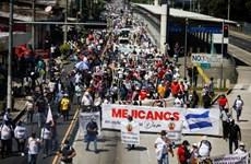 Người dân lại biểu tình chống chính phủ tái diễn ở El Salvador