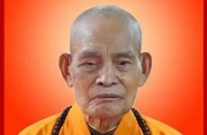 Pháp chủ Giáo hội Phật giáo Thích Thổ Tuệ viên tịch ở tuổi 105