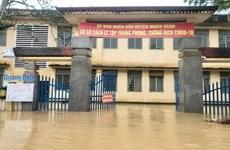 Mưa lũ gây chia cắt, ngập lụt nhiều nơi tại tỉnh Quảng Ngãi