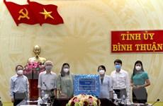 TP Hồ Chí Minh chia sẻ kinh nghiệm phòng, chống dịch với Bình Thuận