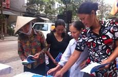 Hơn 100 phụ nữ di cư được khám sức khỏe miễn phí