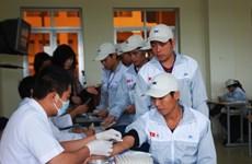 Hoàn tất ký quỹ lần đầu cho 35 lao động sang Hàn Quốc