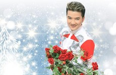 Mr Đàm đón Giáng sinh bằng liveshow riêng tại Hà Nội