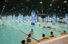 Khai trương cụm bể bơi trong nhà lớn nhất Việt Nam
